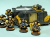 Space Marine Scythes of the Emperor Rhino Mark 2 with Squad