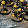 A gathered collection of the Scythes over the last few years, prior to my collecting the Tau and more recently, working on Truescale variations of these characters :...