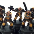 Scythes of the Emperor Scouts, the retro squad, progress continues on the squad, now we have a shoulder mounted heavy bolter, a mohawk wearing scout (nod to tradition) […]