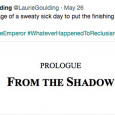 "Just noted on L J Goulding's Twitter he has revealed a glimpse at a potentially new story line featuring Reclusiarch Hornindal. Background on Hornindal from ""The Shadow of..."