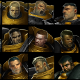 Scythes of the Tenax crew, both Battle Brothers, Neophytes and Senior scouts. A sample of the portraits I'll be using to follow the progress of each of the...