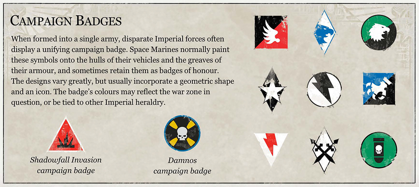 Ranks In Marine >> The Scythes of the Emperor Heraldry