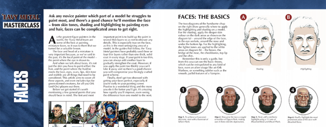 Hi All, Slightly different today. Whilst answering a request on Twitter, I've compiled Face Painting guides by Darren Latham of GW in PDF form plus more than a...