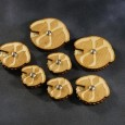 I was recently alerted by David, a visitor, discovered on Etsy a guy that makes Scythes of the Emperor wound trackers and objective markers. The set has Wound...